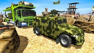 Army Cars Transport Truck 2019 | American Car Transport Simulator - Android GamePlay HD
