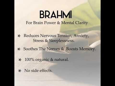BRAHMI TABLET: BRAHMI is a powerful tonic for the brain.