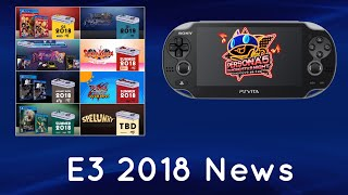 PS Vita at E3 2018. News and annoucements. Iconoclasts, Salt & Sanctuaary, VA-11 HALL-A and more!