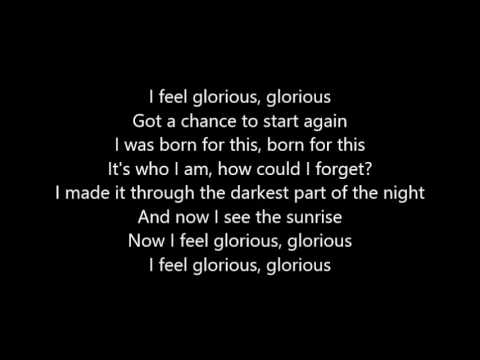 Glorious - Macklemore feat. Skylar Grey LYRICS