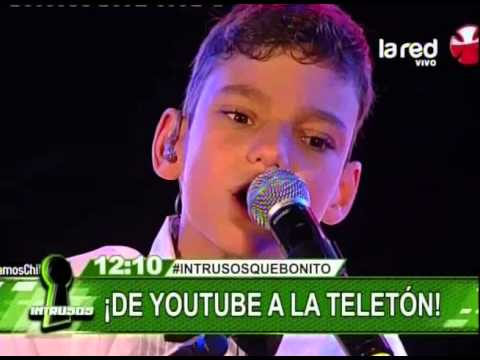 Adrián, el niño gitano de Youtube que cautivó Chile