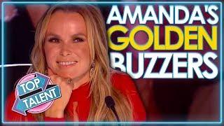 Amanda Holden's GOLDEN BUZZERS on Britain's Got Talent | Top Talent
