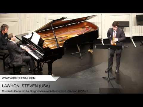 Dinant 2014 - Lawhon, Steven - Concerto Capriccio by Gregori Markovich Kalinkovich