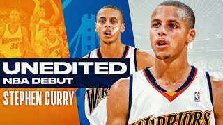 UNEDITED: Steph Curry's NBA Debut 🔥