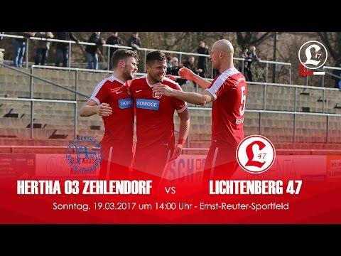 FC Hertha 03 Zehlendorf - SV Lichtenberg 47 (NOFV-Oberliga Nord) - Spielszenen | SPREEKICK.TV)