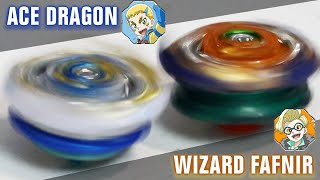 HAND-SPINNING BETTER THAN LAUNCHER?! - Ace Dragon .St.Ch Zan VS Wizard Fafnir .Rt.Rs Sen BATTLE