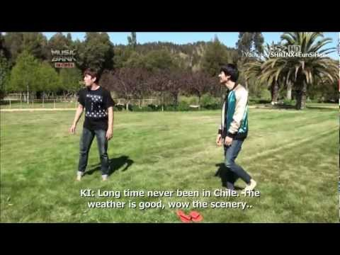 (Eng sub) Super Junior funny and crazy time in Chile