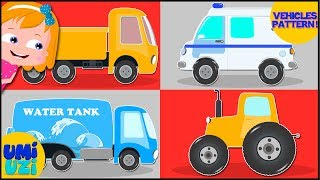 Vehicle pattern  Learning Video For Kids and toddlers
