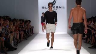Nautica Men's Spring 2014 Black Sail Fashion Show