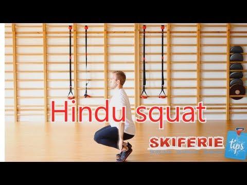 Skitræning - Øvelser til skiferie # 2 af 7 - Hindu squat - Skiferietips.dk