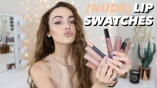 My Favorite NUDE Lip Colors | Drugstore + High End