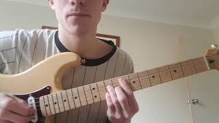ARE WE STILL FRIENDS? TYLER THE CREATOR GUITAR TUTORIAL