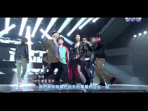 【HD(應援)繁中字】110807 Super Junior - Super Man Live @ Comeback Stage