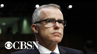 """Trump slams Andrew McCabe, Rod Rosenstein in wake of """"60 Minutes"""" interview"""