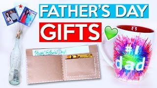 DIY Father's Day GIFT IDEAS!