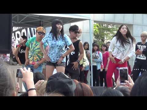 5 和粉絲跳愛投羅網1(1080p)@羅志祥 獅子吼 高雄簽唱會[無限HD]