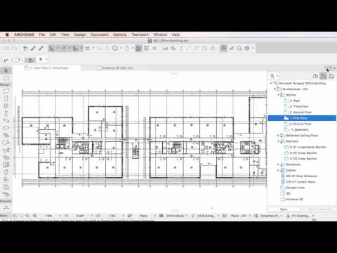 ARCHICAD 20 - Graphic Override Combinations in View Settings