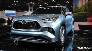 2020 Toyota Highlander Close-Up Look - 2019 NYIAS