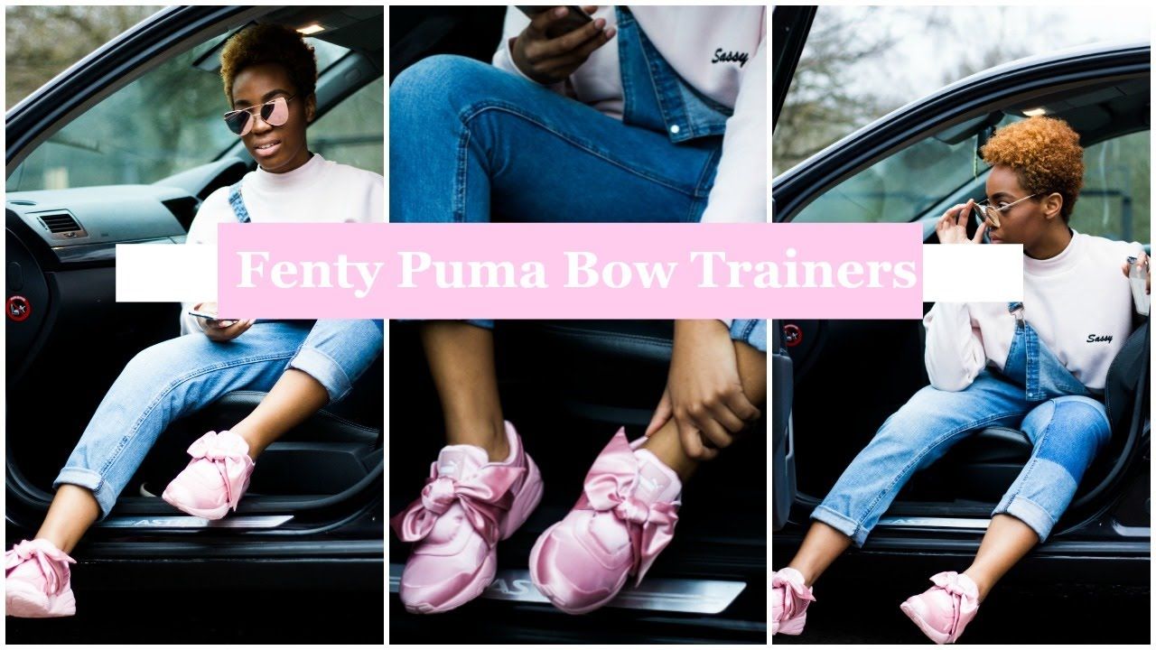 How To Wear Rihanna Bow Sneakers