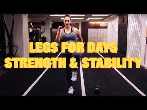 Legs For Days Strength & Stability | Thank Bod with Ashley Graham