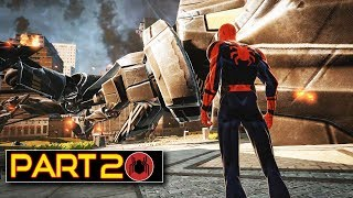 Spider-man Homecoming Story Gameplay Part 2 - The Amazing Spider-man Mod