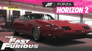 Forza Horizon 2 Op The Fast & The Furious: How To Make Dom's Charger Daytona