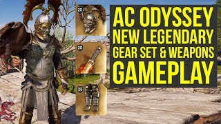 Assassin's Creed Odyssey Gameplay NEW LEGENDARY Armor & Weapons (AC Odyssey Gameplay)
