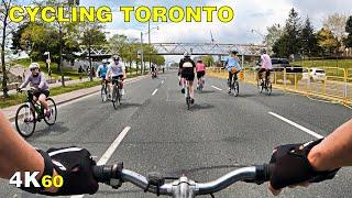 Cycling Toronto's Lake Shore Blvd West Closed to Cars (May 15, 2021)