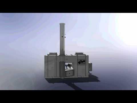 再生蓄热式氧化炉 (RTO)