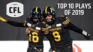 CFL 2019 Plays of the Year