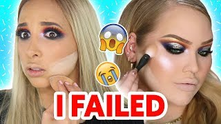 I Tried Following A NIKKIETUTORIALS Makeup Tutorial | Mar