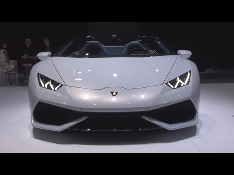 Lamborghini Huracán LP 610-4 Spyder (2016) Exterior and Interior in 3D