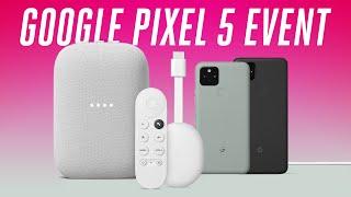 Google Pixel 5 Event in 6 minutes..