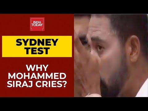 Sydney Test: 'Remembered dad during national anthem', Hyd bowler Siraj on being emotional