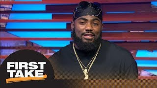 Landon Collins: Josh Allen 'would have to explain himself' to teammates in NFL | First Take | ESPN