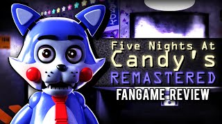 Five Nights at Candy's Remastered (FNACR) - Fangame Review