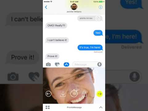Pronto by Privates only agnostic app to send self-destructing messages, and allows you to use your favorite apps to message your friends, its encrypted, patented and helps prevent against screenshots, check it out in the apple store and google play store.