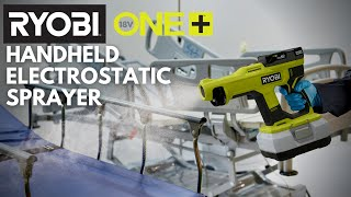 Video: 18V ONE+ Handheld Electrostatic Sprayer Kit with 2.0 Ah Battery and Charger