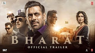 BHARAT 2019 Movie Trailer Salman Khan Katrina Kaif