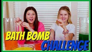 MYSTERY BATH BOMB CHALLENGE    Taylor and Vanessa