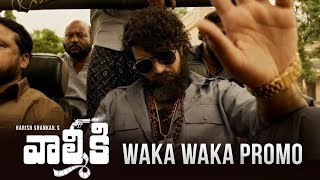 Waka Waka Video Promo | Valmiki