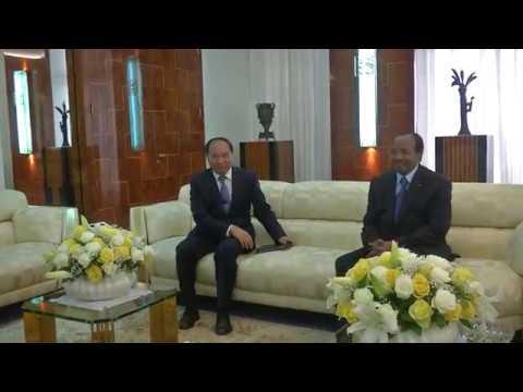 S.E. Wei Wenhua, Ambassadeur de Chine au Cameroun, reçu en audience par S.E. Paul BIYA