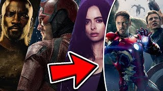 CONFIRMED Marvel TV Show Characters Will Be In Future Avengers Movies?!