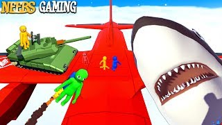 Sharks vs Tanks vs Jetpacks  ( HAVACADO Gameplay)