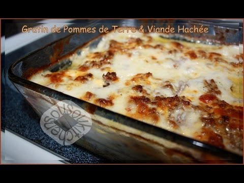 recette de gratin de pommes de terre et viande hachee meat. Black Bedroom Furniture Sets. Home Design Ideas