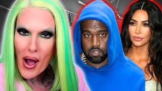 Jeffree Star REACTS to Kanye West CHEATING RUMORS causing more DRAMA in Kim Kardashian DIVORCE