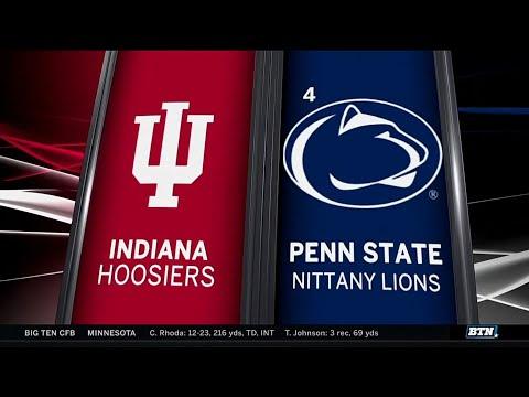 Indiana at Penn State - Football Highlights