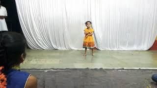 Cute Baby Siya's Dance Performance On Jingle Bells