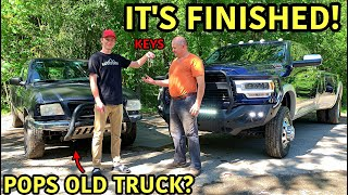 Building My Dad His Dream Truck 14