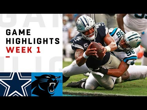 Carolina Panthers vs Dallas Cowboys